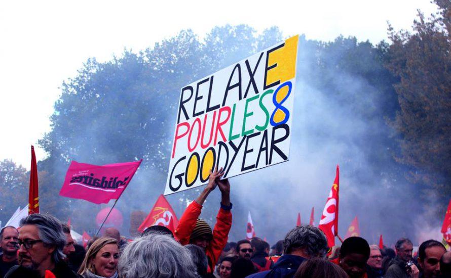 Etappensieg für die Goodyear-Arbeiter*innen - aber der Kampf geht weiter!