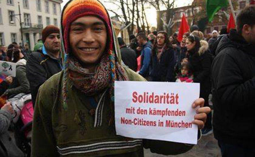 [Fotogalerie] Solidarität aus Rostock für die Non-Citizens