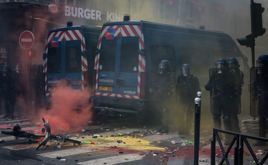 [Fotoreportage] Massenproteste und Repression in Frankreich