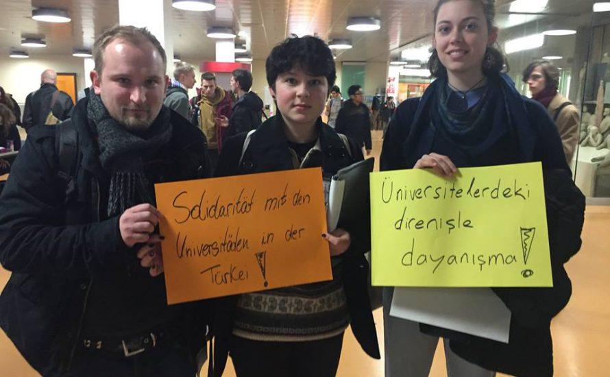 Solidarität von Dahlem bis Diyarbakır!