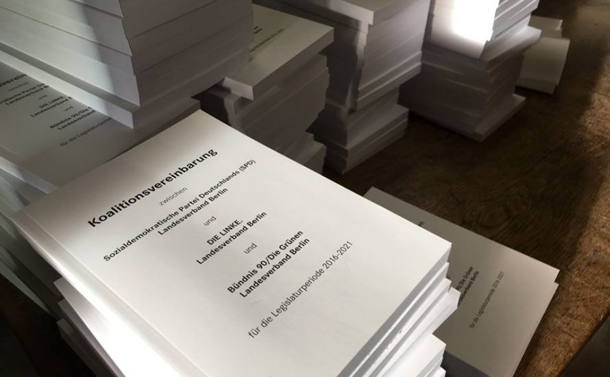 89,3 Prozent der Mitglieder der Linkspartei Berlin stimmen für Abschiebungen, Privatisierungen und Repression