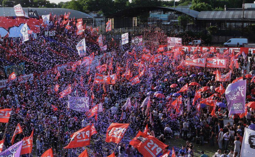 Argentinien: 20.000 Trotzkist*innen füllen Fußballstadion [mit Videos]