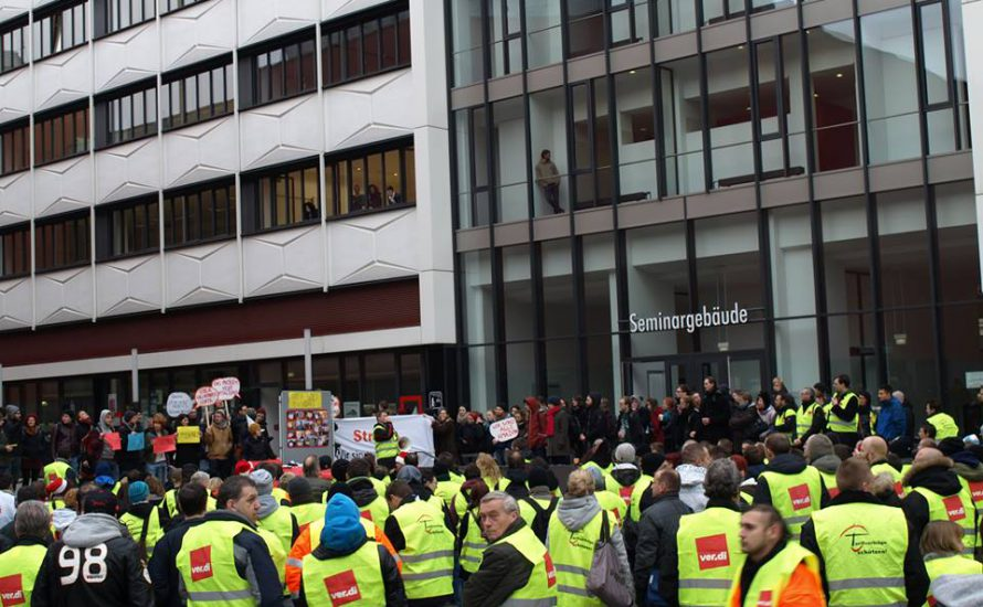 Auf nach Frankfurt! Solidarität mit den Streiks bei Amazon!