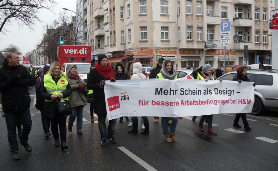 Berlin: Einzelhandel streikt weiter