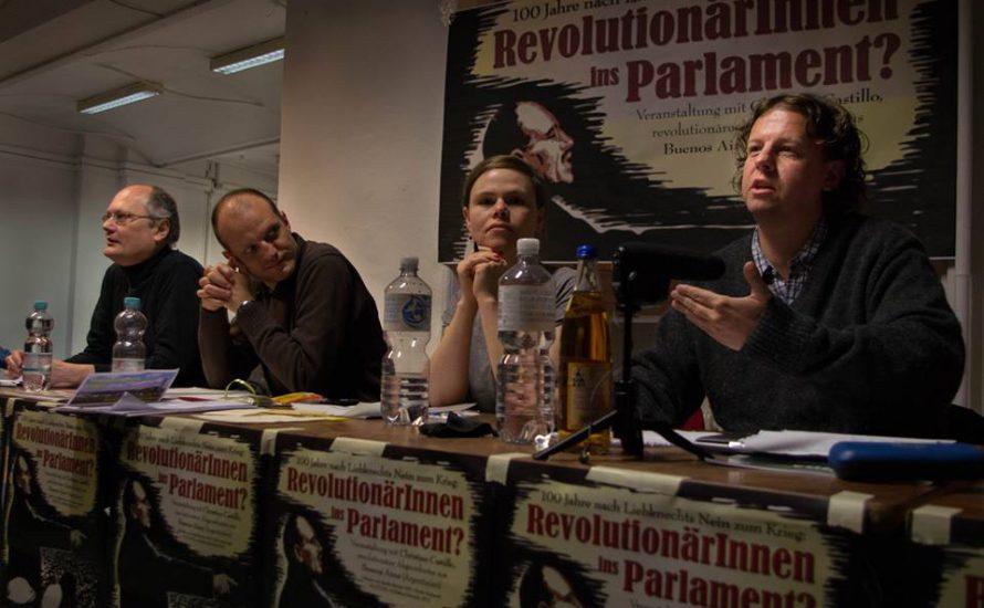 Ein revolutionärer Abgeordneter in Berlin