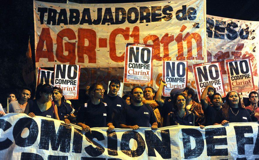 AGR Clarín: Arbeiter*innen in Argentinien kämpfen gegen Entlassungen