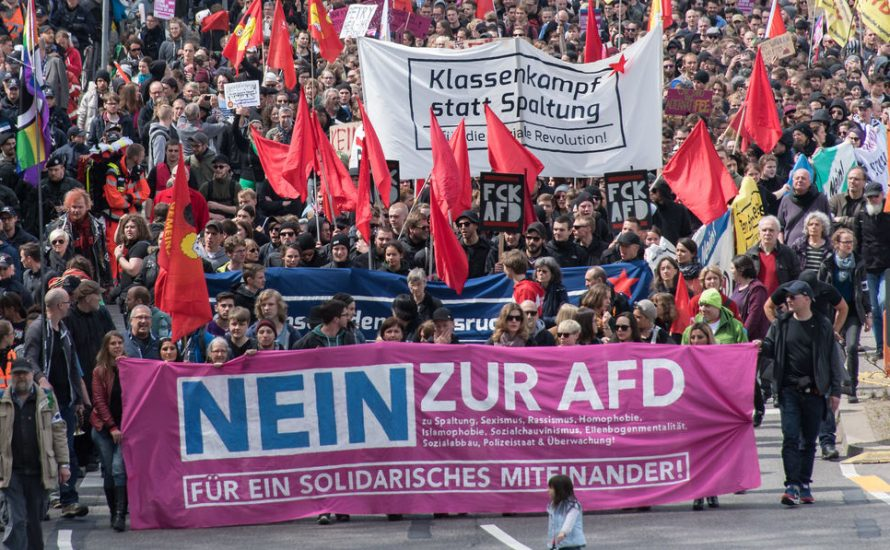 Die AfD blockieren in Hannover