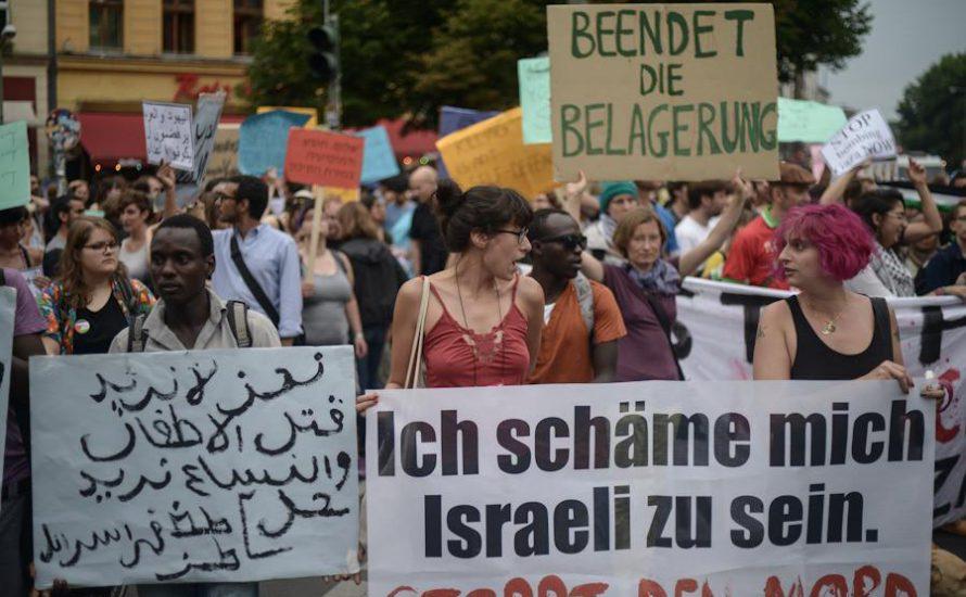 Linke Israelis organisieren Kundgebungen gegen den Gaza-Krieg