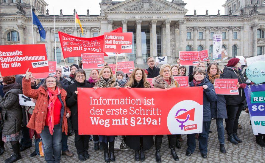 Wollen Wagenknecht und Bartsch das Werbeverbot für Abtreibungen retten?