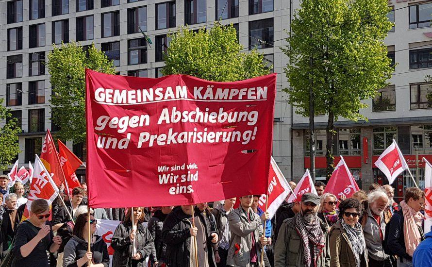 [Video] Waffen der Kritik München auf der 1.-Mai-Demonstration