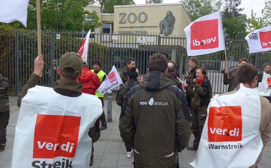 15 Prozent mehr Lohn am Berliner Zoo
