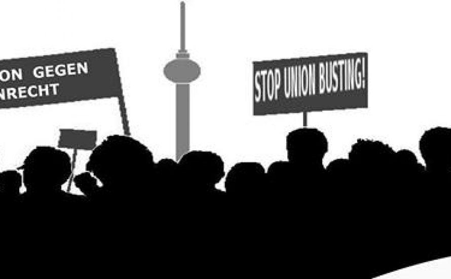 Zwei Gerichtsverhandlungen gegen Union Busting am 24. Mai