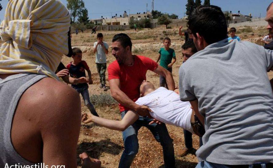 """""""Nicht tödliche Waffen"""" töten weiteren Demonstranten im Westjordanland"""
