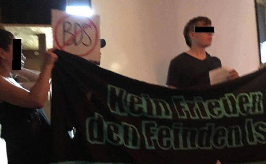 """""""Antideutsche"""" stören israelische Veranstaltung in Leipzig"""