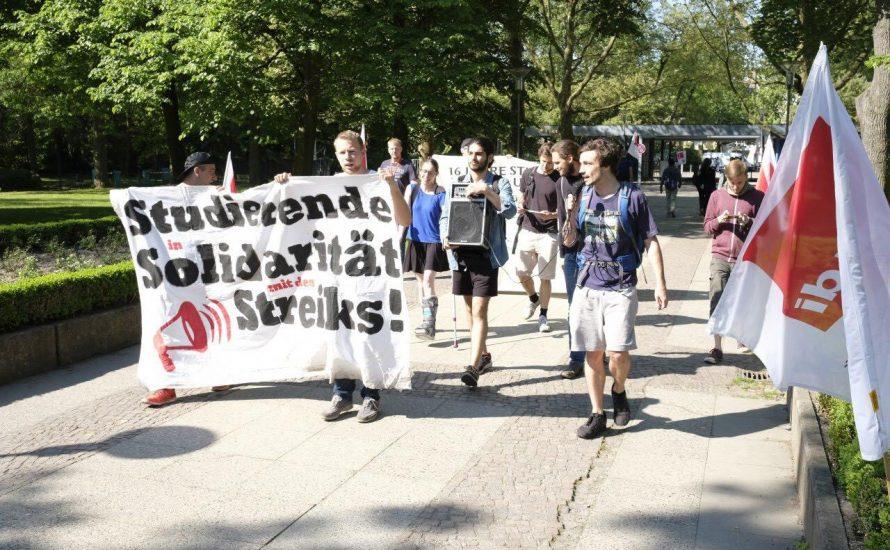 Linke Szene Berlins – zeigt eure Solidarität mit der CFM!