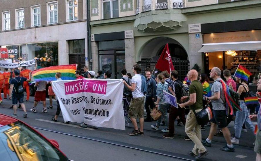Gemeinsam kämpfen für Befreiung: Studis und Arbeitende zum CSD