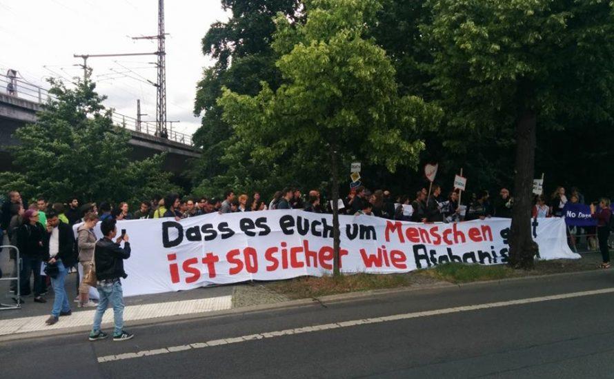 Kundgebung in Berlin fordert sofortigen Abschiebestopp nach Afghanistan!