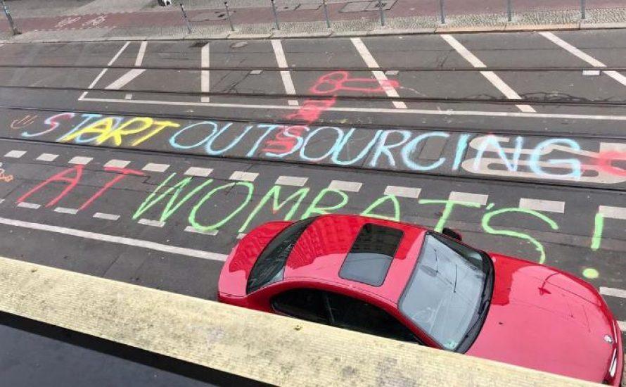 Kollektiv gegen Outsourcing