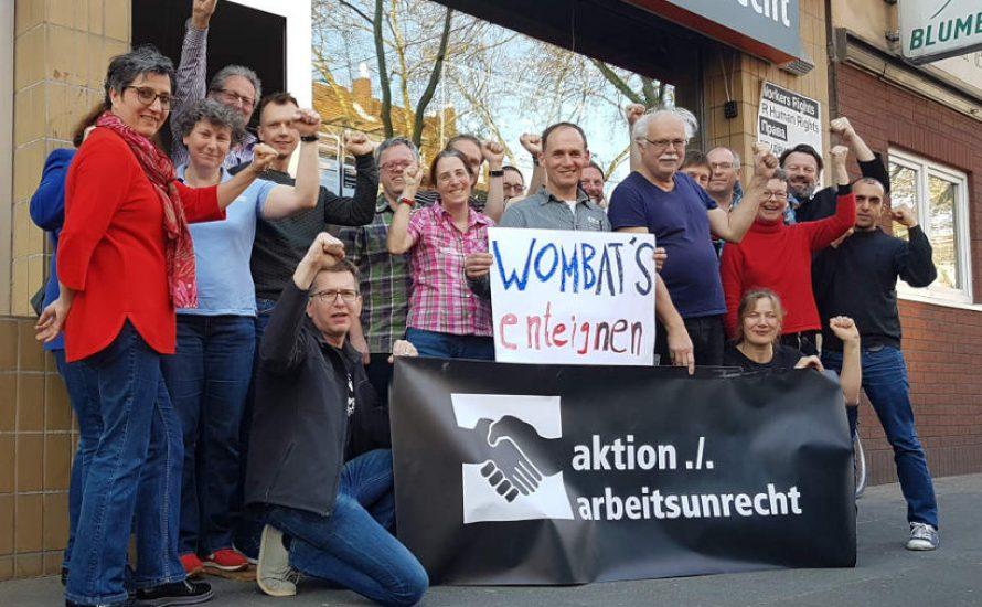 Solidarität mit den wombat's-Kolleg*innen: Schließung verhindern!