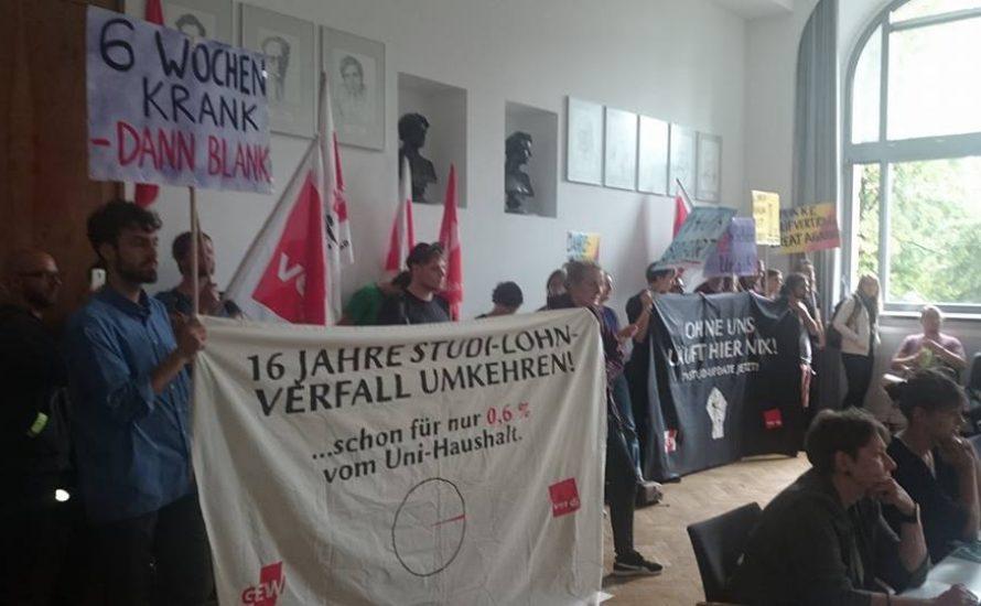 Der Arbeitskampf an den Berliner Unis als Fallstudie für die Tricks der Bosse