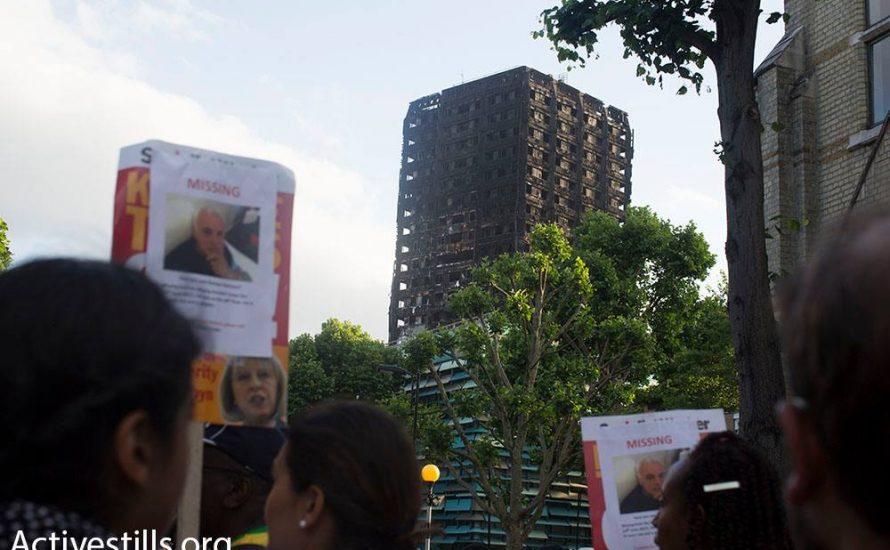 Die Ruinen des Grenfell Tower erinnern uns an die Märtyrer des Kapitalismus