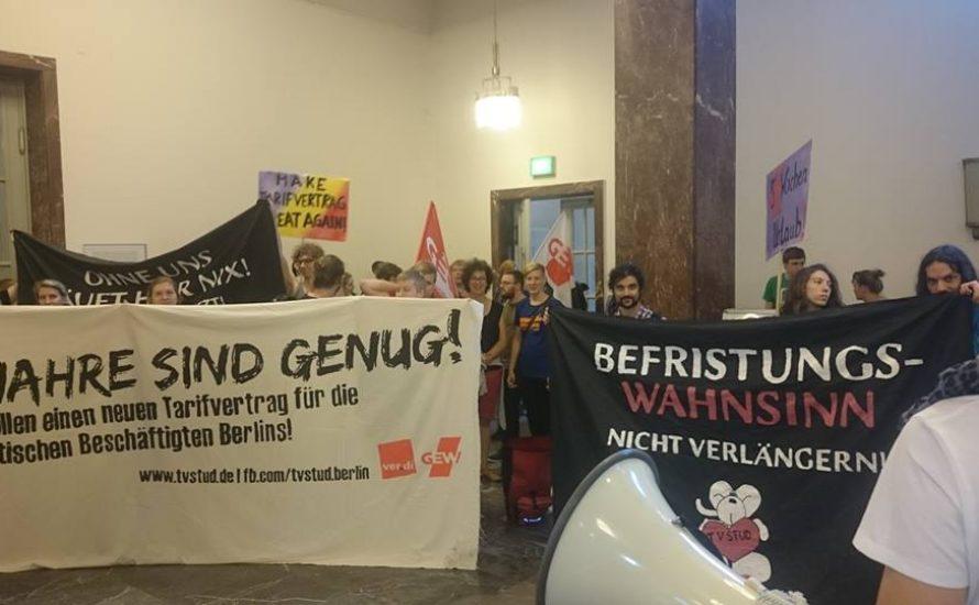 Hochschulen verschlechtern ihr Angebot: Zeit zum Streiken!