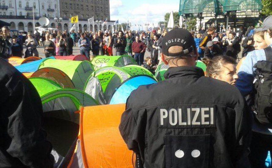 Schlaflos in Hamburg – Campen gegen G20