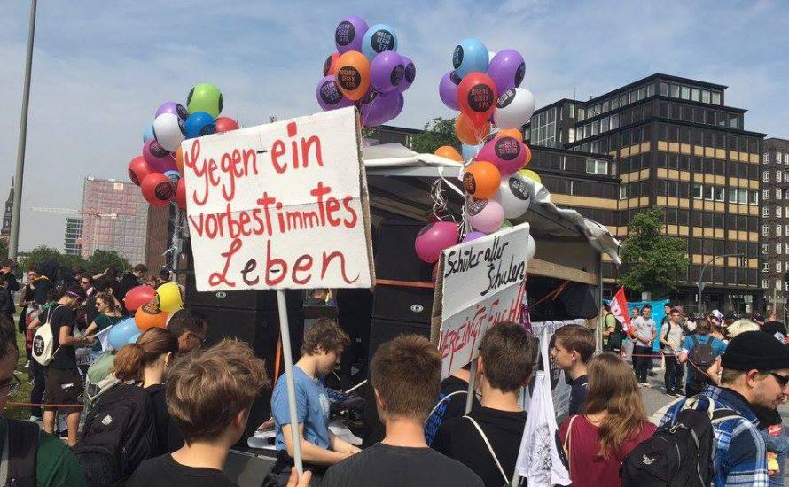 Schulstreik gegen G20 in Hamburg