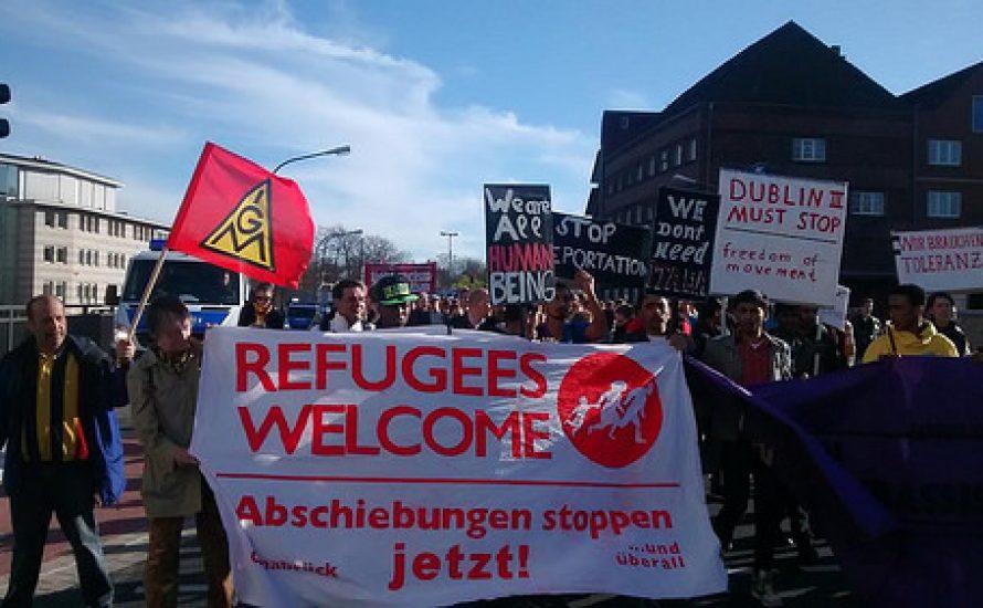 Streiks gegen Abschiebungen und für offene Grenzen