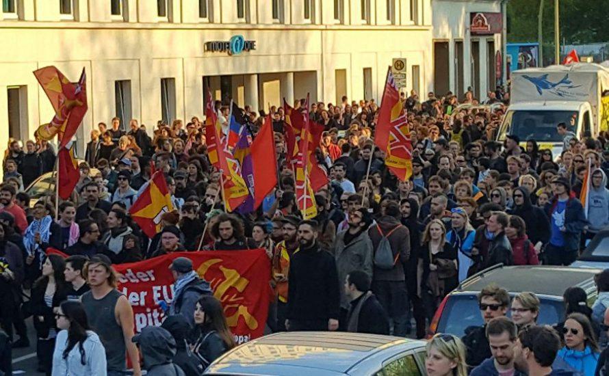 1. Mai Aufruf Berlin: Klassenkämpferischer Block auf der DGB-Demonstration