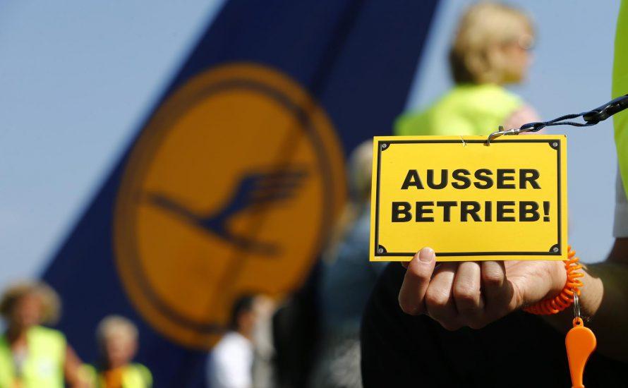 900 gestrichene Flüge – Streik bringt Lufthansa ins Schwitzen