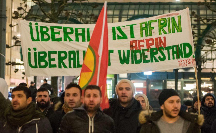 Der Repression trotzen: Dieses Wochenende auf die Straße für Afrin!