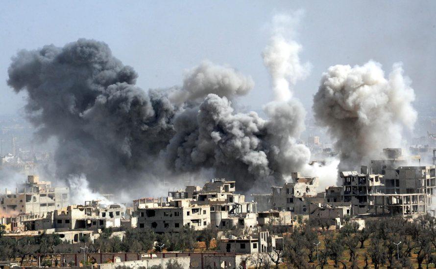 Luftangriffe auf Syrien waren völkerrechtswidrig - wen interessierts?