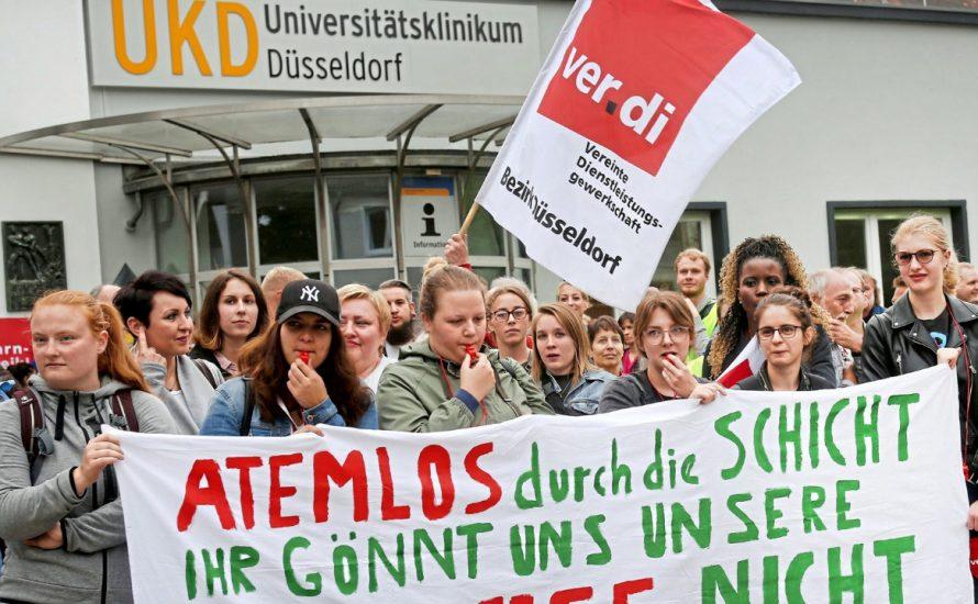 """Pflegenotstand: Wir brauchen """"grausame Gewerkschaftsstreiks"""""""