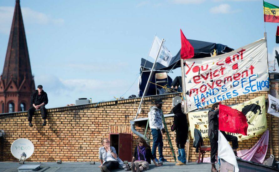 2.000 SchülerInnen und Studierende solidarisch mit dem Kampf der Geflüchteten