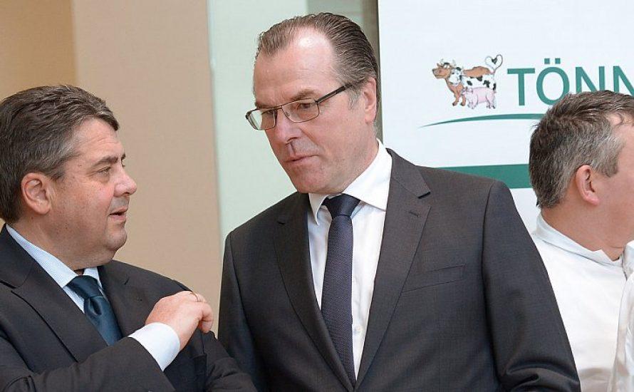 Tönnies-Skandal: 10.000-Euro-Gabriel springt Fleischmilliardär zur Seite