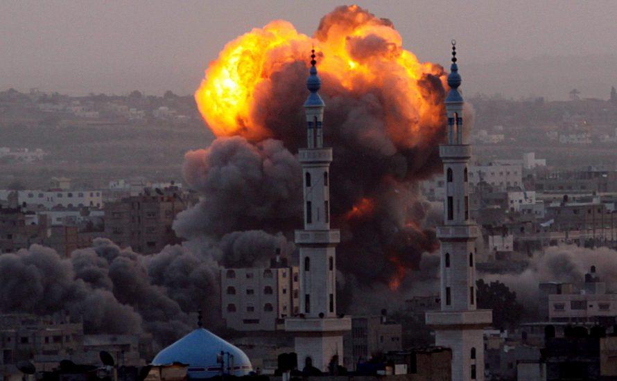 Nach dem Angriff des terroristischen Staates Israels auf Gaza