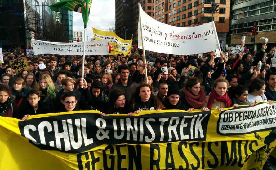 Bundesweiter Schulstreik gegen Rassismus am 28. April