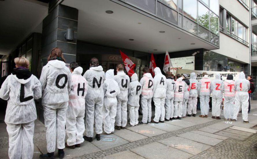 Solidarität mit der Tarifinitiative der studentischen Beschäftigten aus dem Studierendenparlament der FU