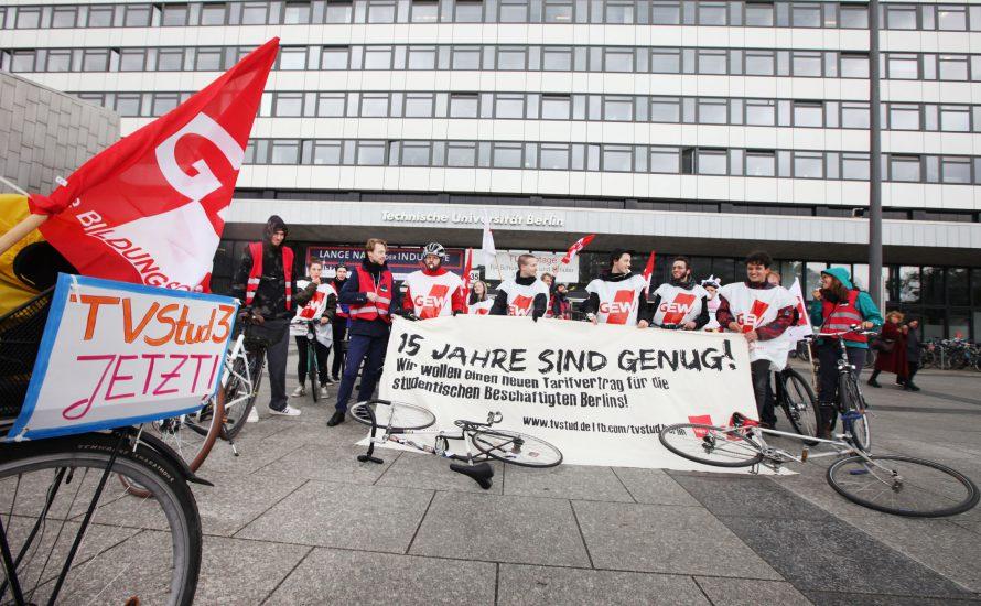 TV-Stud: Ein neuer Tarifvertrag für studentische Beschäftigte!