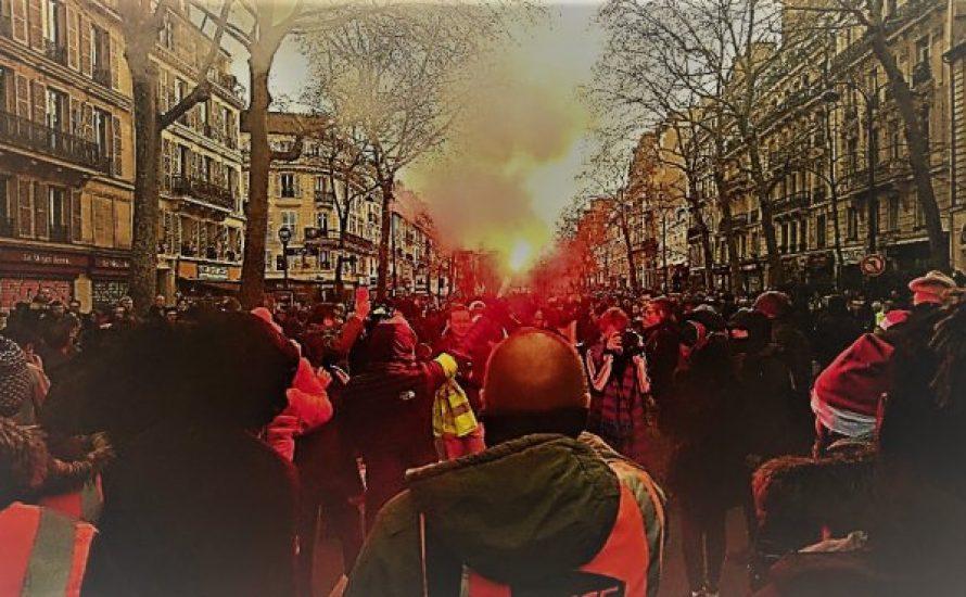 Frankreich im Generalstreik: 1,7 Millionen auf der Straße