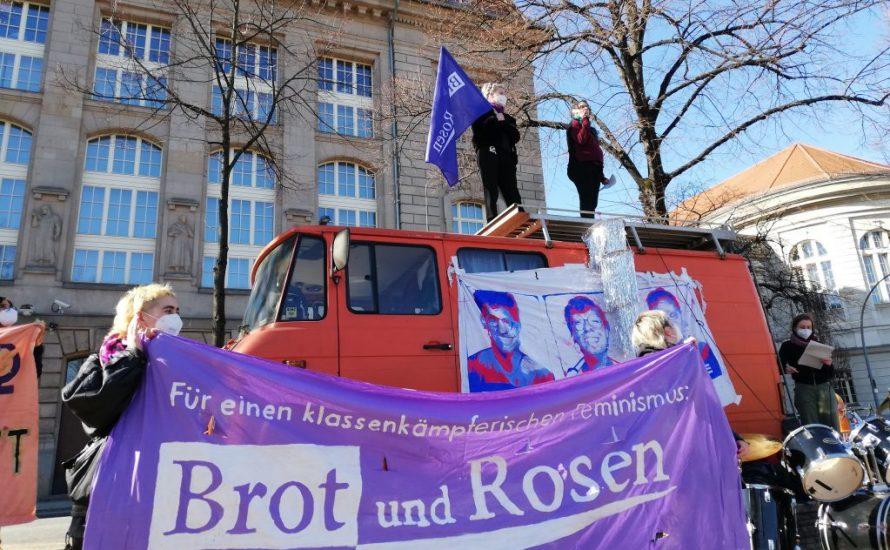 Tausende beim 8. März in Berlin – für einen feministischen Ausweg aus der Krise