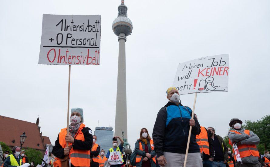 Berliner Krankenhausbewegung stellt Rot-Rot-Grün ein Ultimatum