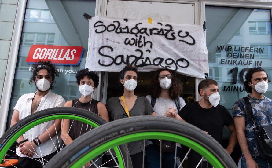 Gorillas-Arbeiter:innen brauchen unsere Solidarität!