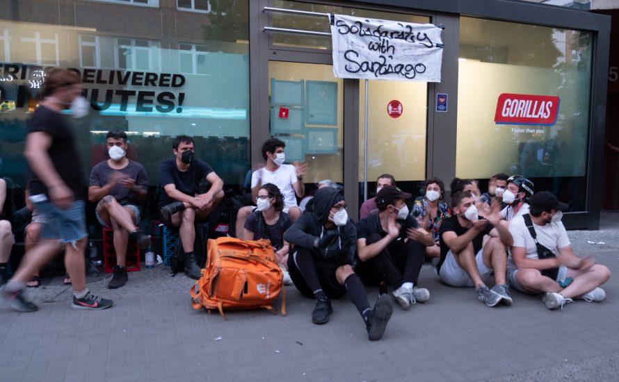 Unterstützt die Streikkasse der Gorillas-Beschäftigten!