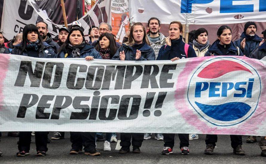 Ein Tag des Kampfes, der Repression und der Solidarität bei PepsiCo