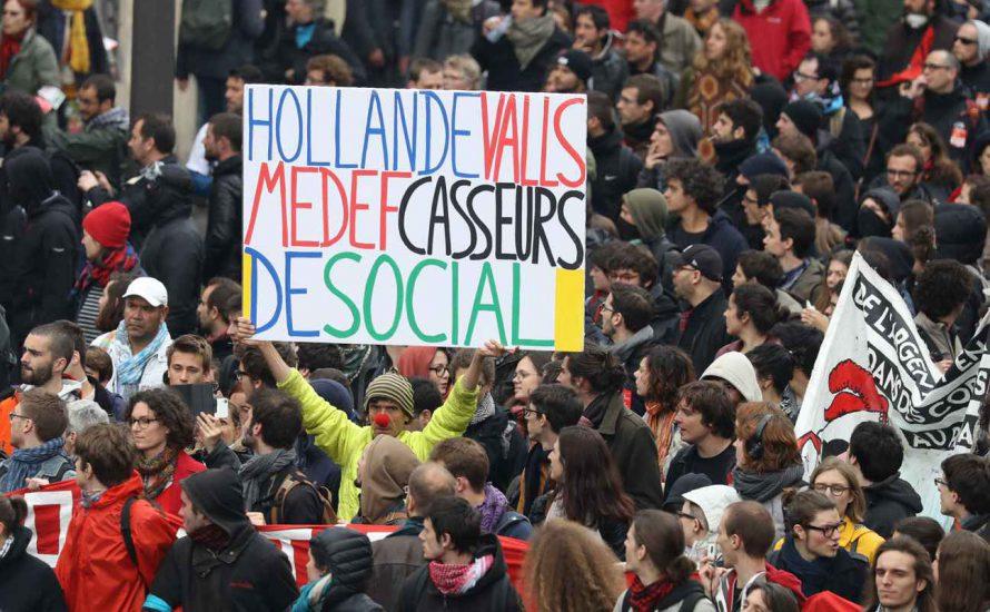 Frankreich: Massenhafter Kampftag gegen die Arbeitsmarktreform