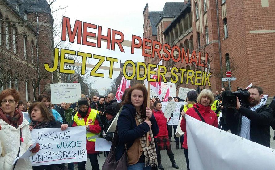 Charité: Jetzt starke Streiks organisieren!