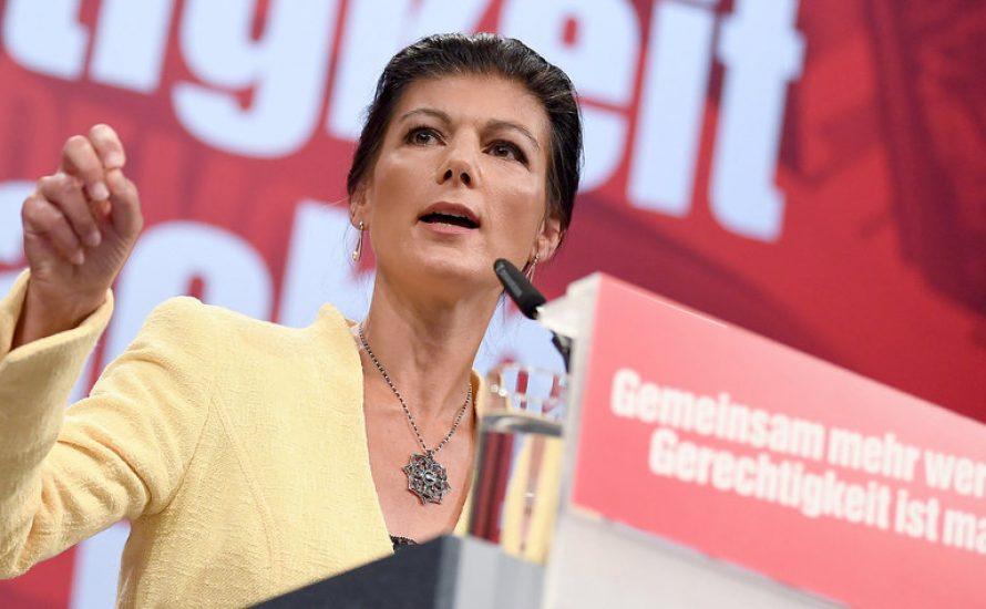 Linkspartei stimmt für offene Grenzen, Wagenknecht interessiert es nicht