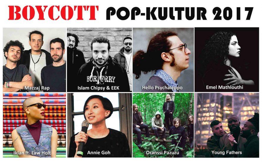 Pop-Kultur 2017: Der kulturelle Boykott kommt nach Berlin